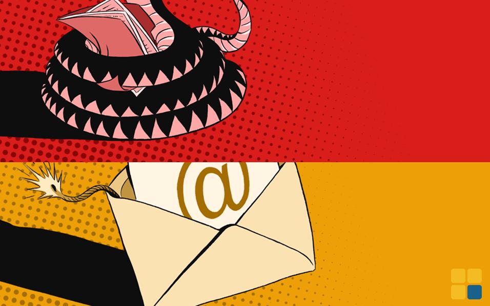 Pecado e-mail e arquivos sem criptografia