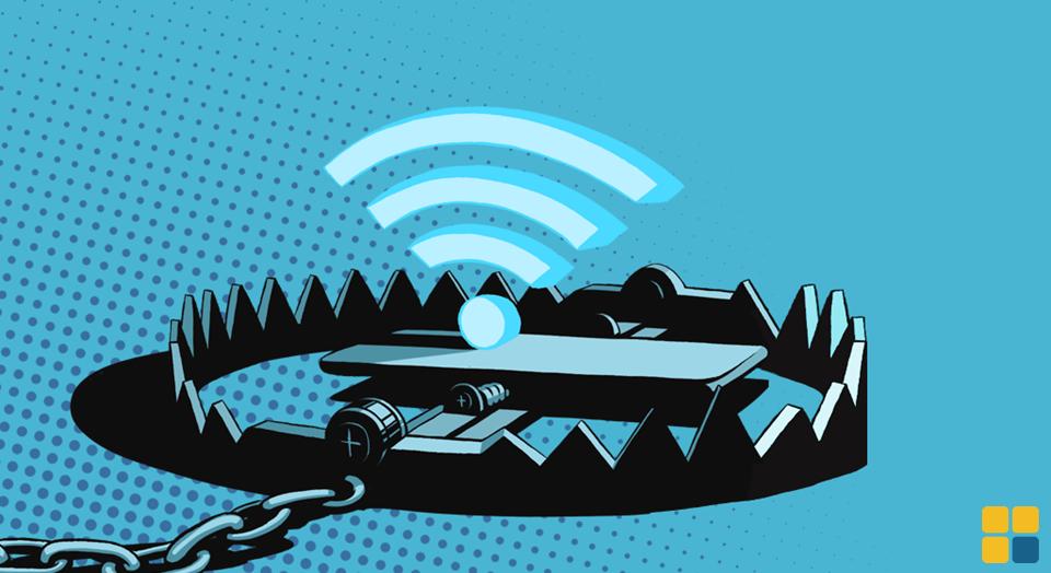 Pecado rede WiFi insegura