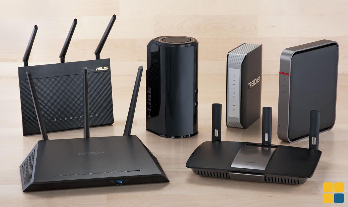 Vários roteadores WiFi